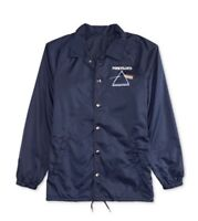 Hybrid Pink Floyd Coach Jacket Navy Blue 2XL XXL XX-Large Brand New $65.00