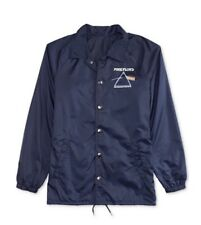 Hybrid Pink Floyd Coach Jacket Navy Blue 2XL XXL XX-Large BNWT $65.00
