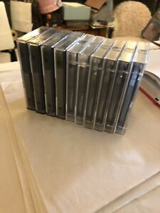 maxell Used audio cassette tapes X10