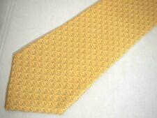 """Vineyard Vines Mens Necktie Tie Yellow Whale Logo Print Silk 58"""""""