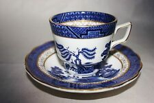 Royal Doulton Booths Real Old Willow Demitasse Cup and Saucer