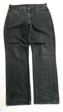H2838 Wrangler Idaho Jeans W34 Schwarz  Gut