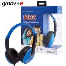 Écouteurs bleus DJ