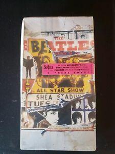 *FREESHIP*,  Beatles Anthology-2, NewOldStock, SEALED 2 Cassettes, HypeSticker