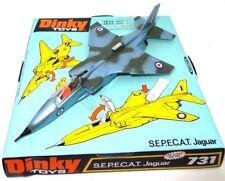 DINKY NO. 731S.E.P.E.C.A.T. JAGUAR FIGHTER JET PLANE - MINT BOXED - SUPERB!