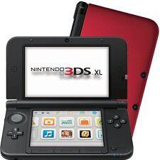 Nintendo 3DS  XL Spiele Konsole Spielekonsole in Rot-Schwarz