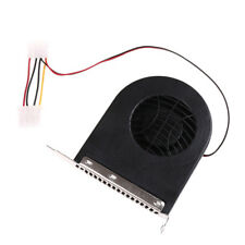 System PCI Slot Blower CPU Case DC Cooling Fan 12v 4pin Cooler For PC Laptop_S