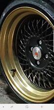 "16"" ST1 Alloy Wheels Tyres 195/45r16 e21 e30 Golf mk1 mk2 mk3 Seat Skoda 4X100"
