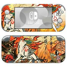 Nintendo Switch Lite Console Vinyl Skin Stickers Decals Covers Okami Wolf Anime