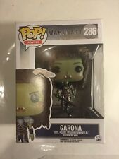 2016 Funko Pop! Movies Warcraft Garona #286 Vinyl Figure Mib