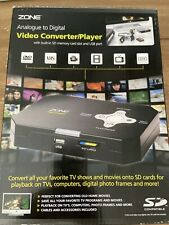 BNWB Zone Video Converter/player Analogue To Digital