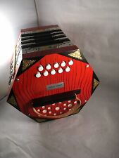 Vintage Model 403 Concertina from Klingenthal German Democratic Republic 20 Keys