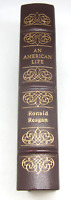 Easton Press Leather An American Life Ronald Reagan Library Of Presidents LN