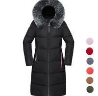 2019 Women's warm winter Jacket long Down Cotton Parka Fur Collar Hooded coat