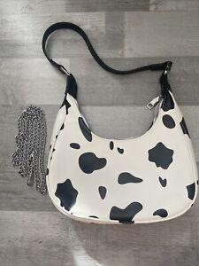 Cow Print Shoulder Bag BRAND NEW