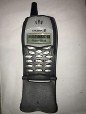 Telefono cellulare vintage da collezione Ericsson T20e Non legge sim