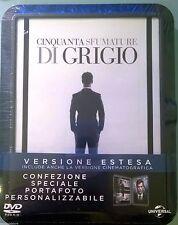 50 SFUMATURE DI GRIGIO (DVD SPECIAL EDITION+ PORTAFOTO) Versione Cinema + Estesa