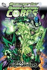 Green Lantern Corps: Revolt of the Alpha Lanterns, Bedard, Tony, Gates, Sterling