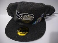 Seattle Seahawks New Era 9fifty Snapback NFL 100 Gray Free Shipping
