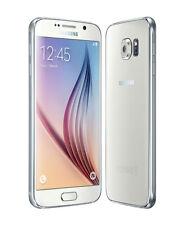 "Smartphone Desbloqueado Samsung Galaxy S6 SM-G920F Fábrica 32GB 5.1"" - Blanco"