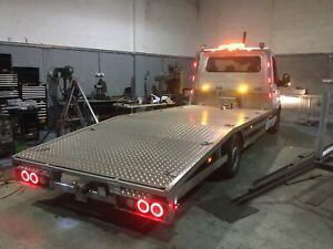 NEW MODEL HUSSAR Recovery Body Beavertail bed Car Transporter Any Chassis