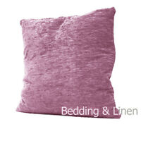 "Plain Luxury Chenille Cushions Super Soft Scatter Cushion Covers-18""x18""-22""x22"""