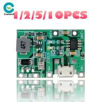 1/2/5/10PCS Battery Charger Board DC 3.7V 4.2V Step Up 18650 Li-ion Boost Module