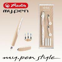 Herlitz my.pen Style Kalligraphie Kalligrafie Füller Füllhalter Nicewriter Set
