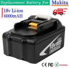 18V 6.0AH Makita BL1860B Li-ion Battery For Makita BL1850 BL1845 BL1830 BL1815