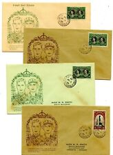 Weeda Canada 246-247 FDCs, 1939 Royal Visit cacheted covers