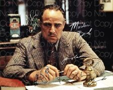The Godfather signed Brando Pacino Caan 8X10 photo picture poster autograph RP 2