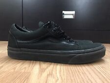 VANS Men's Ward Shoes Size 8.5 Black Skate Off the Wall Athletic Sneakers 721356