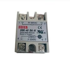 1Pcs SSR-40DA-H DC Control AC Solid State Relay 3-32VAC 90-480VAC new good