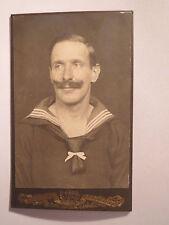 Gaardra ? - 1918 - Alfred Pollnow als Matrose - Portrait / CDV