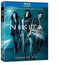 Nikita. the complete season 2 two. saison. Maggie q. 4 Blu-ray. NEUF