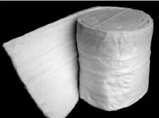 """Ceramic Fiber Insulation Blanket for Wood Stoves or Inserts - 10 FEET 1"""" Thick"""