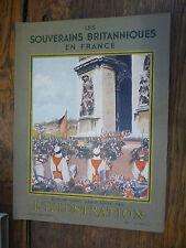 L'illustration n° 4978 bis Les souverains britaniques en France Hors-série 1938