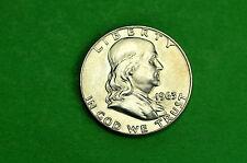 1963-P CHOICE   BU  Mint State  Franklin  SILVER  Half  Dollar (90% Silver))