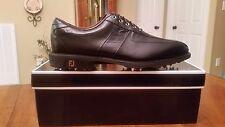 2014 Footjoy FJ ICON Mens Golf Shoes 52088 NEW Black/Blk Croc 11Med  $349 Ret