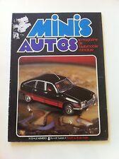 MINIS AUTOS N°33 AOUT 1978 CITROEN GS BASALTE LONDRES SYDNEY 2CV SOLIDO