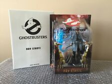 NEW MIB 2009 GHOSTBUSTERS MATTY COLLECTOR RAY STANTZ FIGURE WITH BLUE GHOST