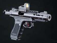 full auto select fire green gas blowback airsoft PISTOL galaxy full metal pistol