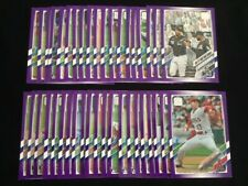 2021 Topps Series One (1-330) Purple Meijer Parallels YOU PICK COMPLETE YOUR SET