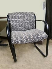 Gray Geometric Pattern Reception Or Conference Chairs Great Condition