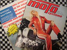 MOTOCYCLISME 1974 N°57 400 KAWASAKI S3 / 185 SUZUKI TS / 200 MILES DAYTONA