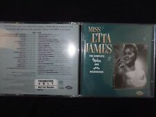2 CD MISS ETTA JAMES / THE COMPLETE MODERN AND KENT RECORDINGS /