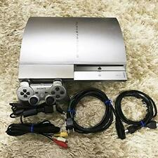 PLAYSTATION 3 (40GB) PS3 sony Satin silver CECHH00 japan