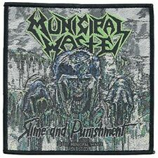Municipal Waste - Slime and Punishment Sew-On Patch