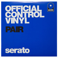"Serato 7"" Blue Vinyl Pair"