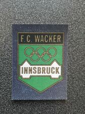 PANINI JEAN'S FUSSBALL WM WC 78 BADGE FC WACKER INNSBRUCK